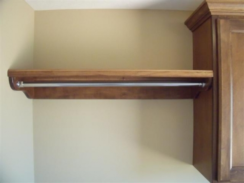 gallery category laundry mudrooms image typical shelf and hanging rod. Black Bedroom Furniture Sets. Home Design Ideas