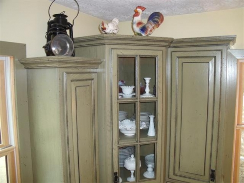 Category Kitchens Image Country Kitchen Oak Distressed Painted